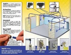 Système De Tuyauterie Rapidair Tubing Air Comprime Master Kit 1/2 Tuyau X 100 Ft 90500