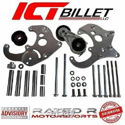 Tic Billettes Ls Camion Espacement R4 A / C Climatiseur Compresseur Bracket Kit