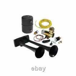 Tout Fait Dodge Ford Hadley Bully Horn Kit Dual Air Horn 12v-dc Compresseur