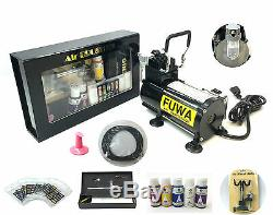 USA Fuwa 1/8 HP Airbrush Système D'air Ongles Compresseur Kit Pour Ongles Tatouage De Bronzage