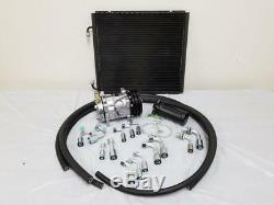 Universal 134a Climatisation Tuyau Drier Kit Ac + Compresseur Ordinaire Et Condenseur