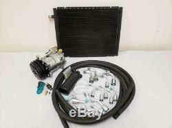 Universal Ac Climatisation Drier Kit 14x18 Condenseur Lisses Tuyaux Compresseur