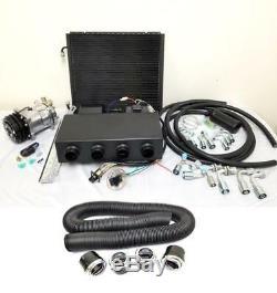 Universal Ac Underdash Climatisation + Kit Évaporateur Conduit Et Ventilations Compresseur