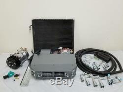 Universal Ac Underdash Climatisation Kit Evaporateur Tuyaux Raccords Compresseur