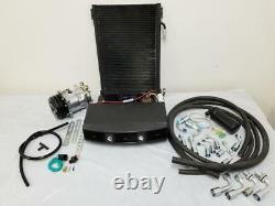 Universal Underdash Ac Air Conditioning Evaporator Kit Compressor Raccords Tuyaux