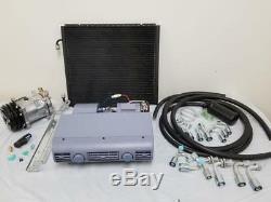 Universal Underdash Climatisation Ac Évaporateur Kit Compresseur Tuyaux Raccords