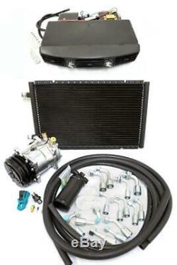 Universal Underdash Climatisation Ac Kit Evaporateur Tuyaux Raccords Compresseur