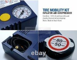 Véritable Kit De Mobilité Des Pneus Pièces Gonfleur Pompe À Pression Compresseur D'air Pour Kia