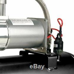 Viair 150 Psi 2 Gallons 12v 280c Étain Compresseur D'air Source Kit Pour Pneus