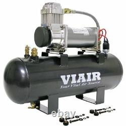Viair 20007 200 Psi 2.0 Gal. Tank Fast-fill-200 Kit De Source D'air (12v)