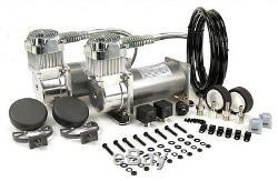 Viair 380c Étain Dual Pack Kit Compresseur 200 Psi Air Ride 38002