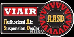 Viair 485c Compresseur Platinum 48500 Air Ride Suspension Sac Gonflable Plié Abaissé