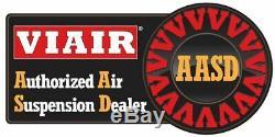 Viair Double Noir 444c 200 Psi Max Compresseur D'air Kit Gratuit Relais Et Commutateur Psi