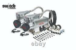 Viair Dual Platinum 485c 200 Psi Air Compressor Kit Gen 2, Décibel Inférieur