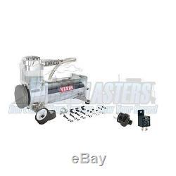 Viair Simple 444c Compresseur D'air Kit Avec 200psi Off Switch & Relais Inclus