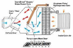 Vintage Air 1963 Chevy Impala Non Usine A / C Climatisation Kit Évaporateur