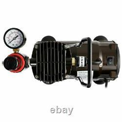 Vivohome Airbrush Compressor Kit Pistolet À Peinture À Double Action Pistolet À Air Bricolage