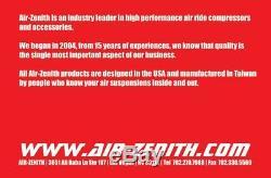 Zenith Air Flex Double Ob2 Air Ride Kit Compresseur (2 Fois Plus Rapide Que Viair!)